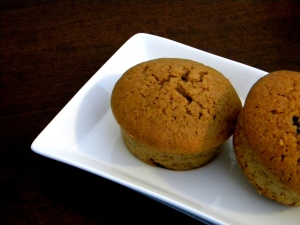 espresso muffin with chocolate drops