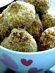 tuna and cauliflower balls
